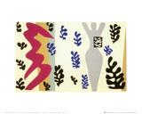 Il lanciatore di coltelli Stampa di Henri Matisse