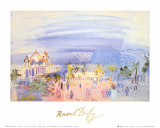 Casino in Nice Posters by Raoul Dufy