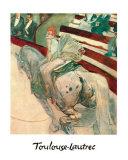 Au Cirque Fernand Ecuyere Art by Henri de Toulouse-Lautrec