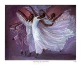 Alas de ángel Lámina por Laverne Ross
