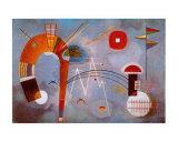 Rond et Pointu, c.1939 Láminas por Wassily Kandinsky