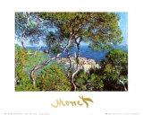 Villas à Bordighera, 1884 Affiches par Claude Monet