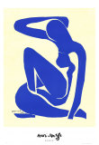 Blue Nude I 1952 Prints by Henri Matisse