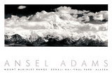 Parque nacional Denali Lámina por Ansel Adams