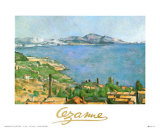 Marseilles Bay Art by Paul Cézanne