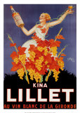 Kina Lillet Poster von Robys (Robert Wolff) 