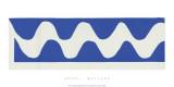 La vague, vers 1952 Sérigraphie par Henri Matisse