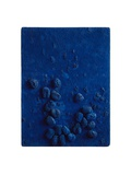 Das Daue Schwammrelief, c.1958 Print by Yves Klein
