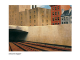 Approaching a city, 1946 Posters by Edward Hopper