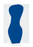 Torse Bleu, c.1944 Serigraph by Henri Matisse