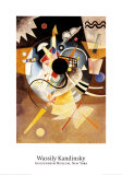 One Center Posters par Wassily Kandinsky