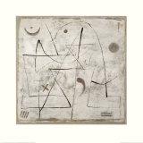 Gedanken bei Schnee, c.1933 Kunst af Paul Klee