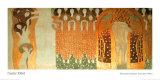 Gustav Klimt - Beethoven Frieze Plakát