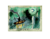 Once in a Blue Moon Prints by Lyonel Feininger