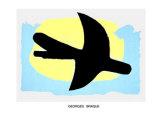 Oiseau Bleu et Jaune, c.1960 Plakater af Georges Braque