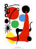 Green Ball, c.1971 Silketrykk av Alexander Calder