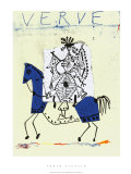 Cover For Verve, c.1951 Serigrafi (silketryk) af Pablo Picasso