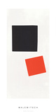 Painting Suprematism, c.1915-16 Serigraph by Kasimir Malevich