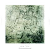 L'Idillio, c.1923 Siebdruck von Pablo Picasso
