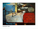 A Lively Still Life Prints by Salvador Dalí
