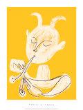 Faune Blanc, c.1946 Siebdruck von Pablo Picasso