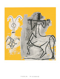 Centaur with Trident Poster van Pablo Picasso