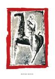 Cavaliere, c.1955 Serigraph by Marino Marini