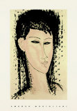Ashanti Serigraph by Amedeo Modigliani