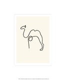 Kamel Siebdruck von Pablo Picasso