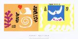 L'Oiseau et le Requin, c.1947 Posters av Henri Matisse