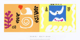 L'Oiseau et le Requin, c.1947 Affischer av Henri Matisse