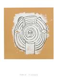 Tete de faune en grisaille ave Serigraph by Pablo Picasso