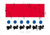 Ciel Rouge, c.1960 ポスター : ジョアン・ミロ