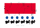 Ciel Rouge, c.1960 Posters by Joan Miró