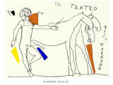 Il Teatro Serigraph by Marino Marini