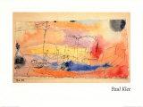 Der Fisch im Hafen Posters par Paul Klee