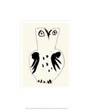 Ugle Serigrafi (silketryk) af Pablo Picasso