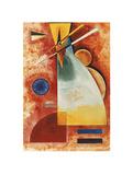 In einander, c.1928 Print by Wassily Kandinsky