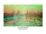 Debacle Sur la Seine Posters by Claude Monet