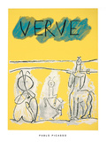 Cover For Verve, c.1951 Serigraph by Pablo Picasso