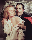 Christopher Lee & Veronica Carlson Photo
