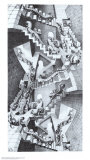 Treppenhaus Poster von M. C. Escher