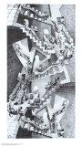 Casa das escadas Poster por M. C. Escher