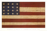 Grand Old Flag Prints by Warren Kimble