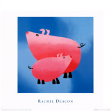 Oink, oink! Arte por Rachel Deacon