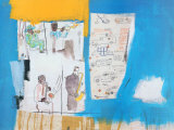 Worthy Constituant Poster by Jean-Michel Basquiat