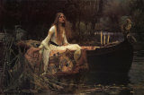 The Lady of Shalott, 1888 Photo by John William Waterhouse
