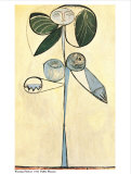 Woman/Flower, 1946 Poster von Pablo Picasso