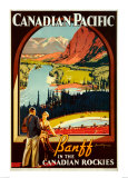 Canadian Pacific, Banff Affiche