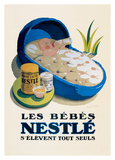 Les Bebes Nestle Posters